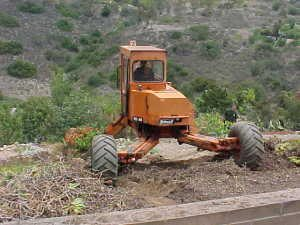 Equipment Backhoe Spider San Diego
